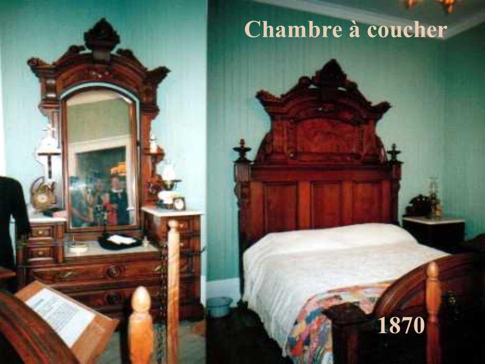 Chambre à coucher 1870
