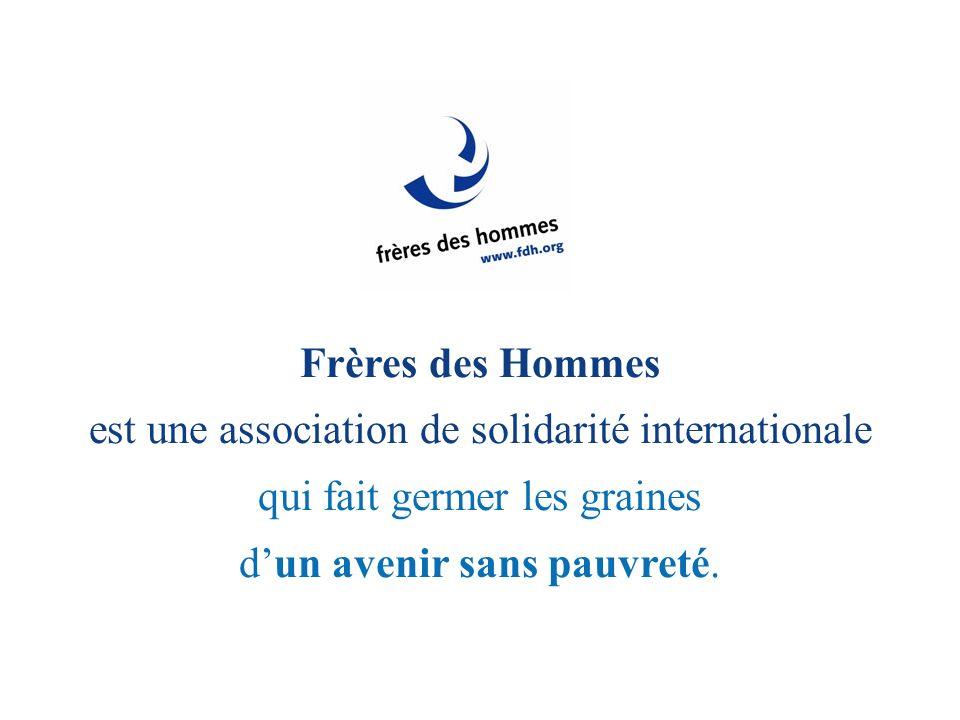 est une association de solidarité internationale