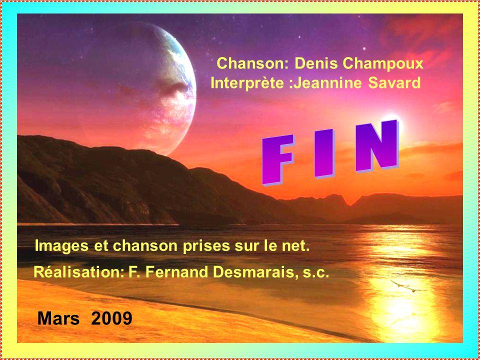 Chanson: Denis Champoux Interprète :Jeannine Savard