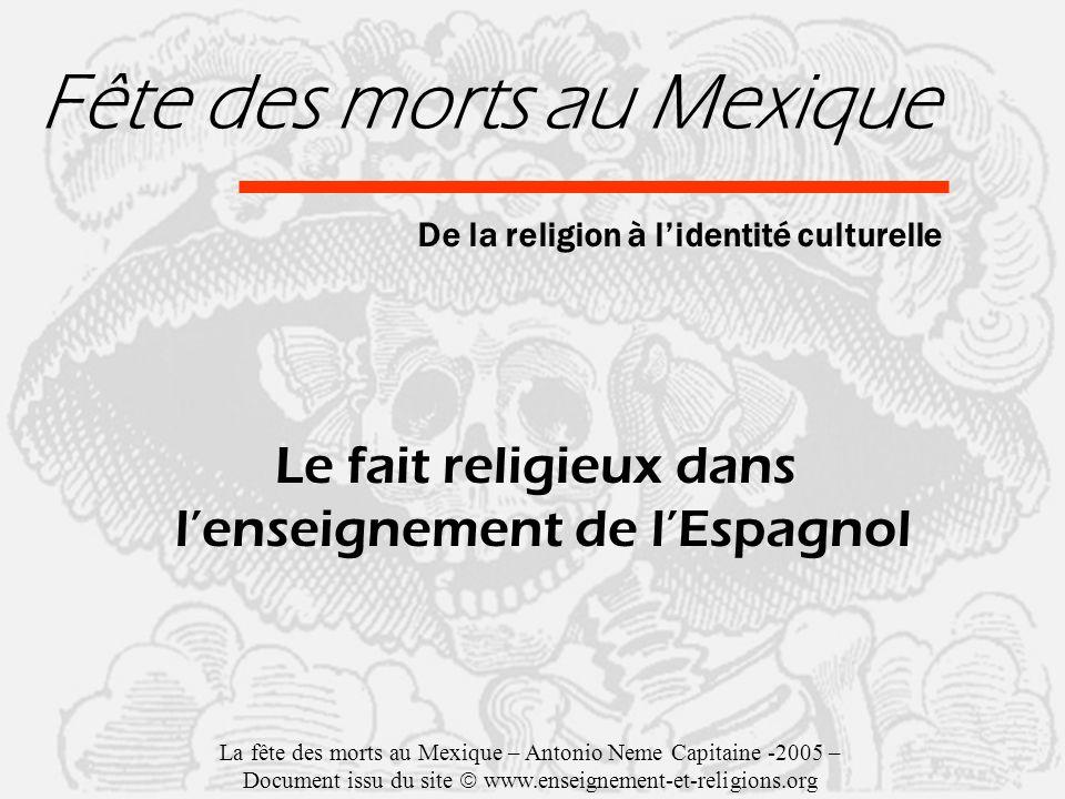 Fête des morts au Mexique