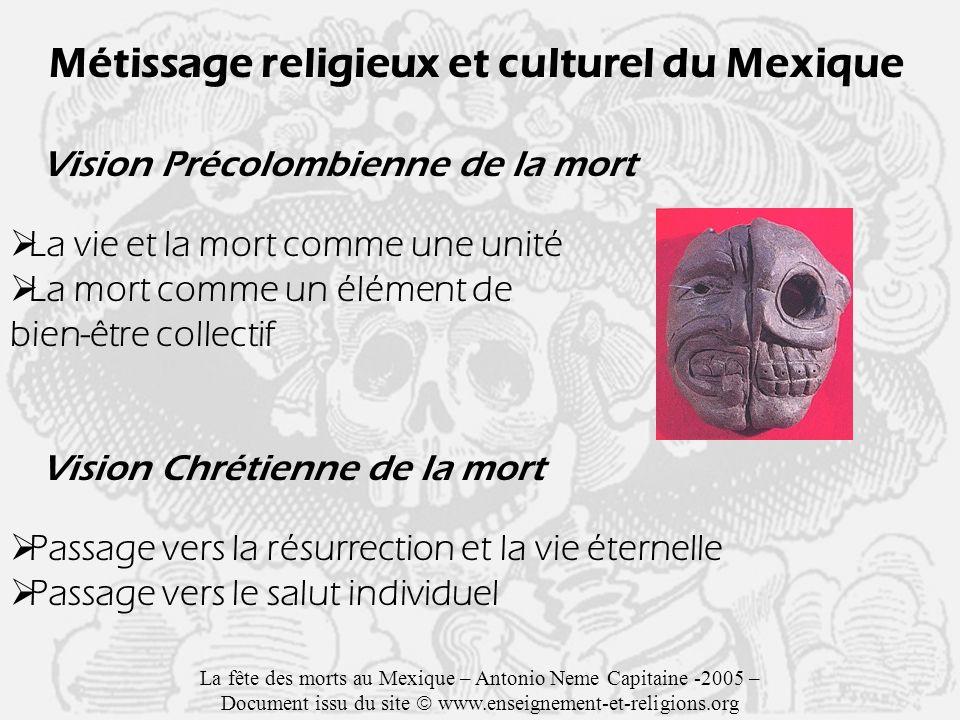 Métissage religieux et culturel du Mexique