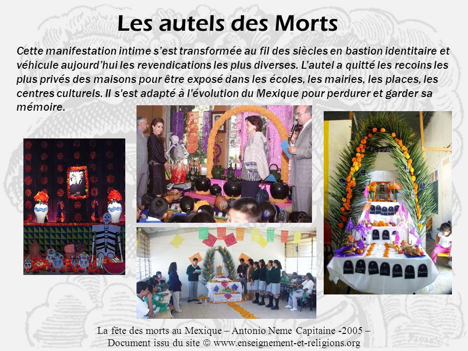 Les autels des Morts