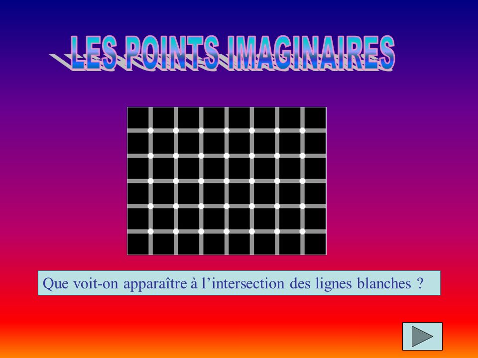 LES POINTS IMAGINAIRES