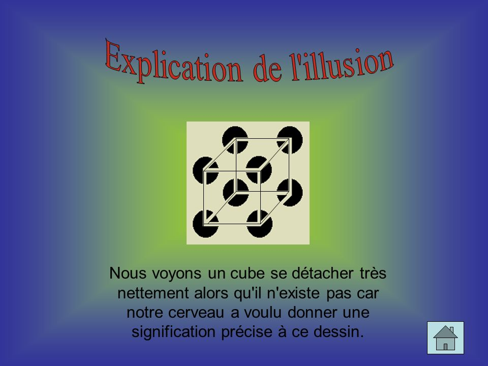 Explication de l illusion