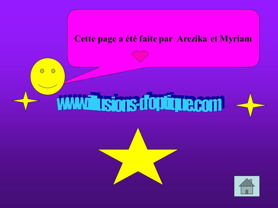 Cette page a été faite par Arezika et Myriam