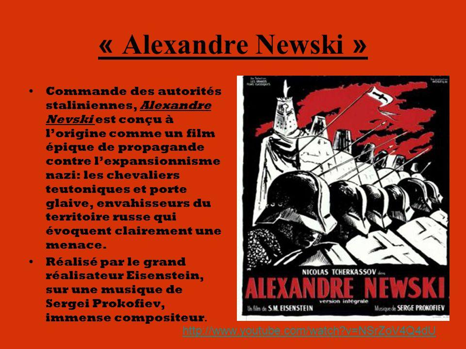 « Alexandre Newski »