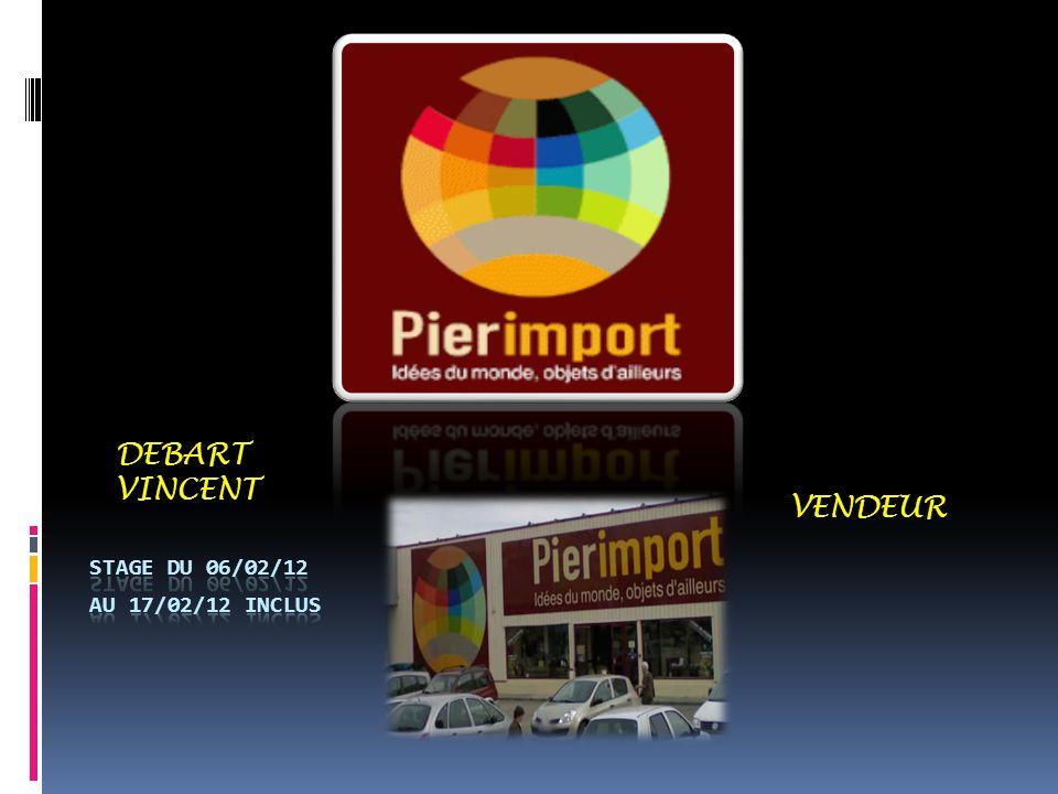 DEBART VINCENT VENDEUR Stage du 06/02/12 au 17/02/12 inclus