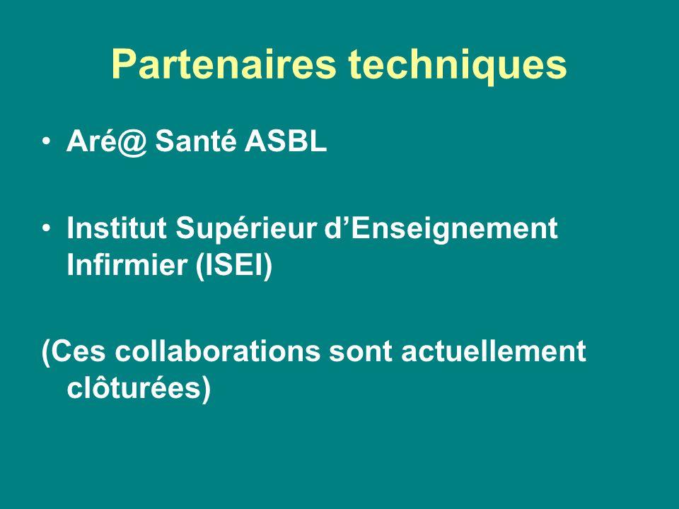 Partenaires techniques