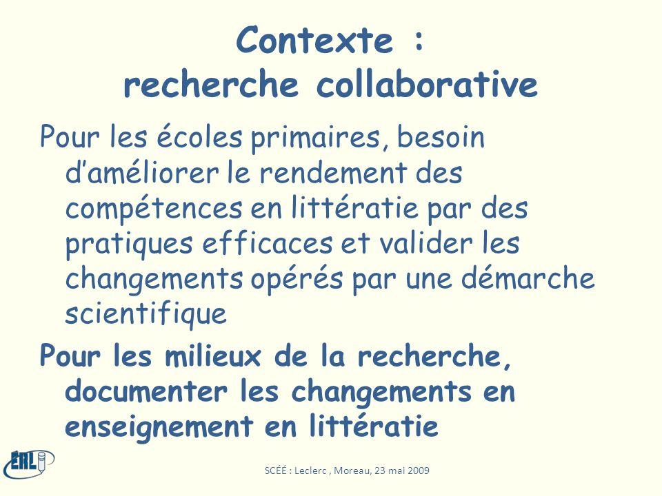 Contexte : recherche collaborative