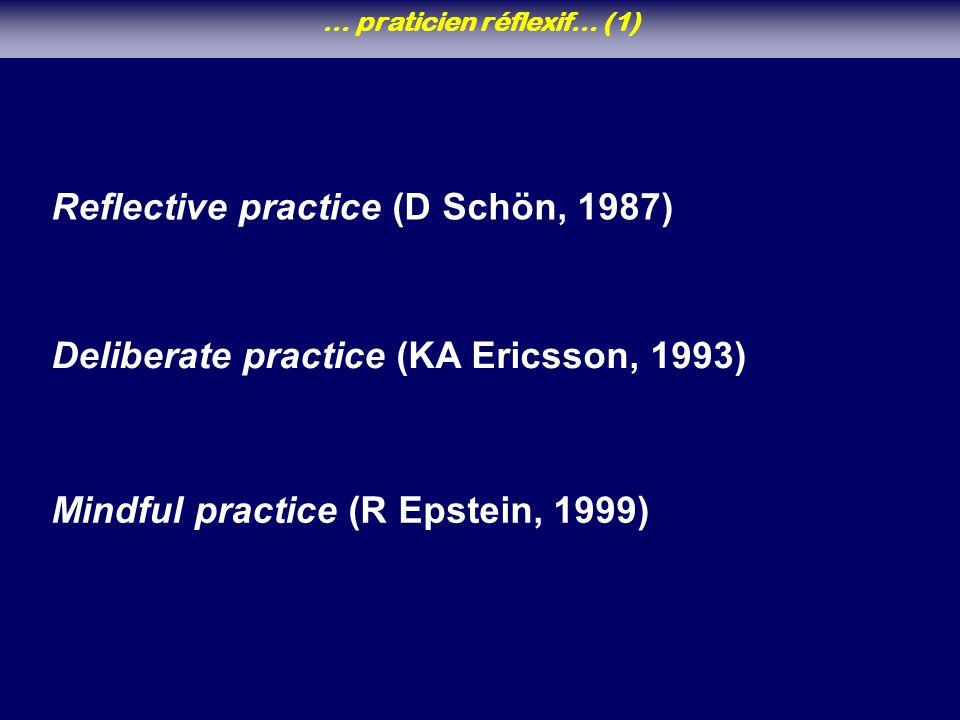 … praticien réflexif… (1)