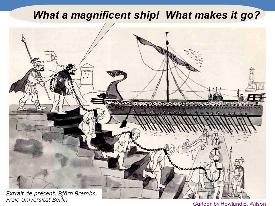 What a magnificent ship! What makes it go