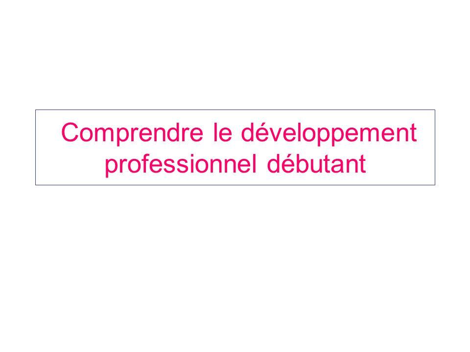 Comprendre le développement professionnel débutant
