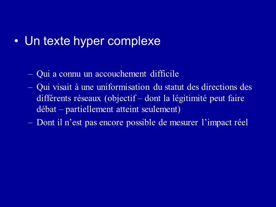 Un texte hyper complexe