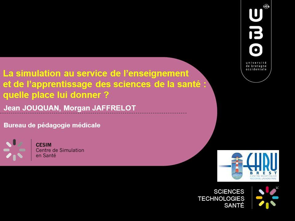 Jean JOUQUAN, Morgan JAFFRELOT Bureau de pédagogie médicale