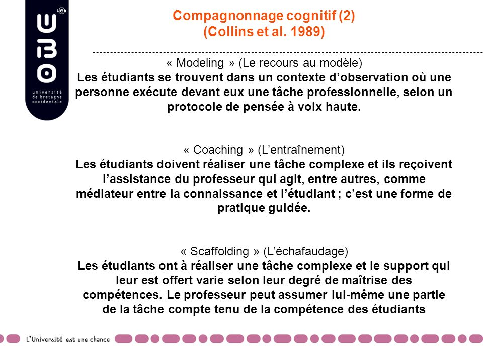 Compagnonnage cognitif (2)