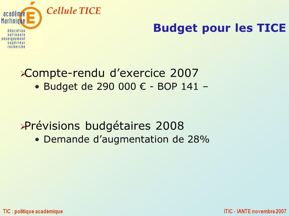 Compte-rendu d'exercice 2007