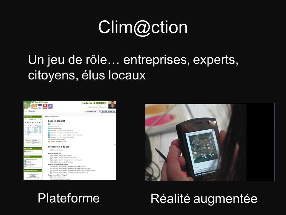 Clim@ction Plateforme Réalité augmentée