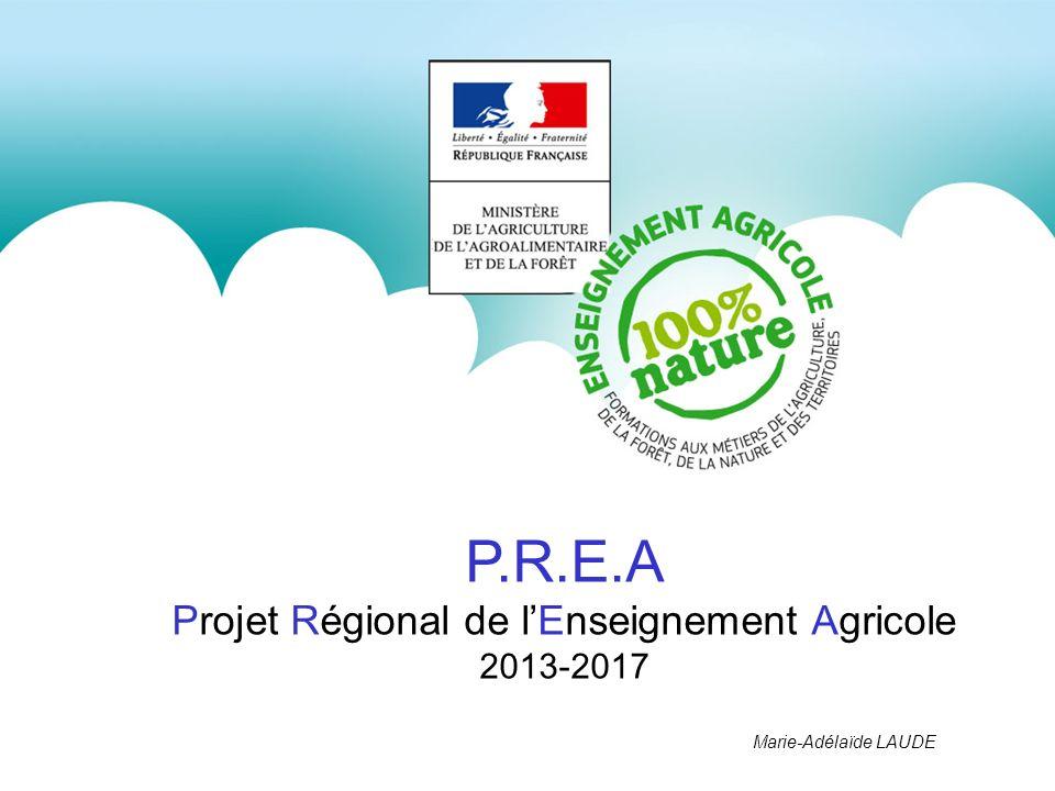 Projet Régional de l'Enseignement Agricole