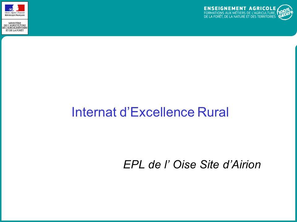 Internat d'Excellence Rural