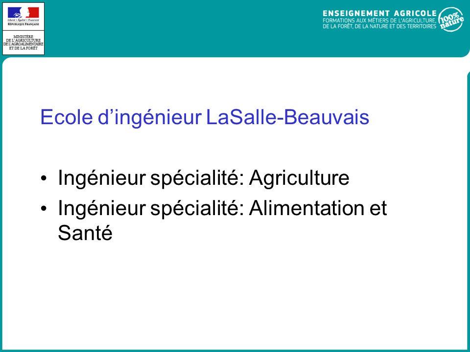 Ecole d'ingénieur LaSalle-Beauvais