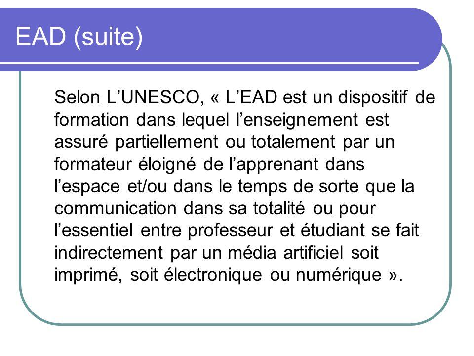 EAD (suite)