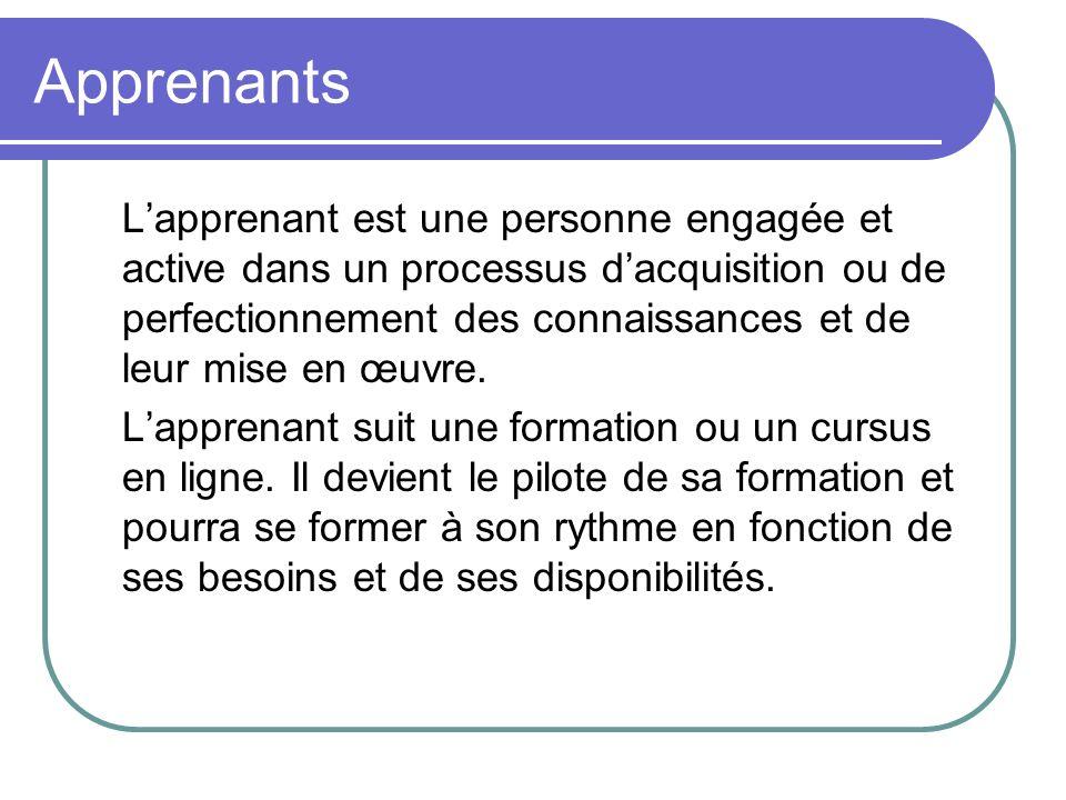 Apprenants