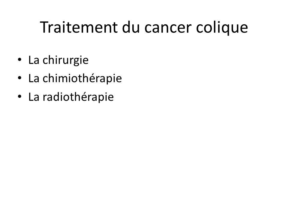 Traitement du cancer colique