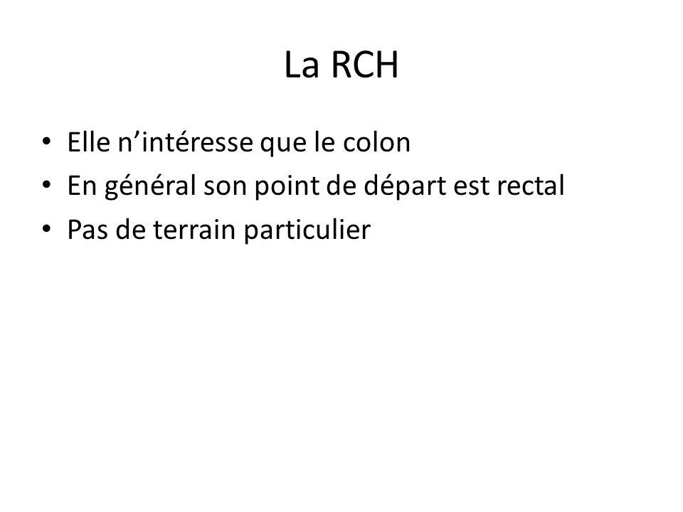 La RCH Elle n'intéresse que le colon