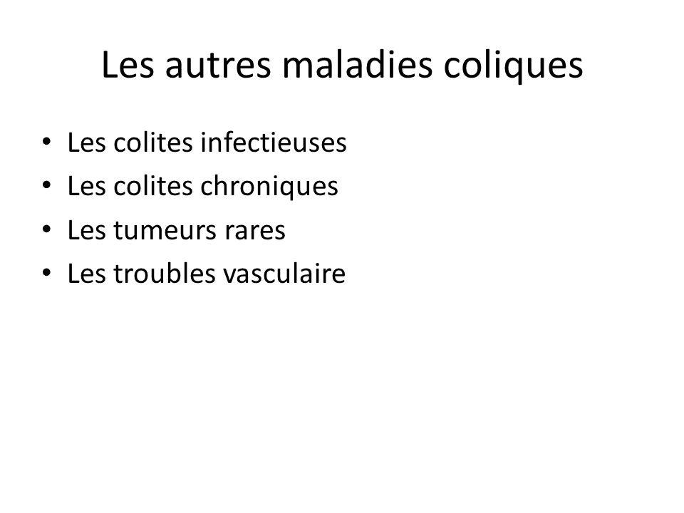 Les autres maladies coliques
