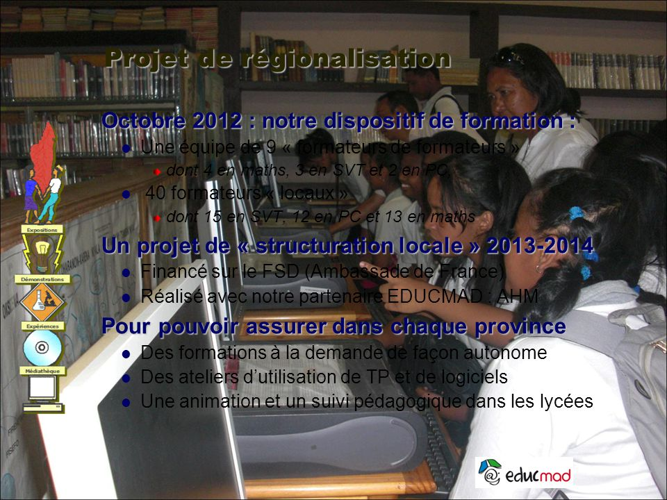 Projet de régionalisation