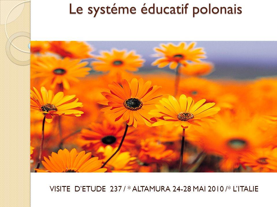 Le systéme éducatif polonais