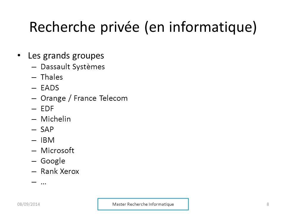 Recherche privée (en informatique)