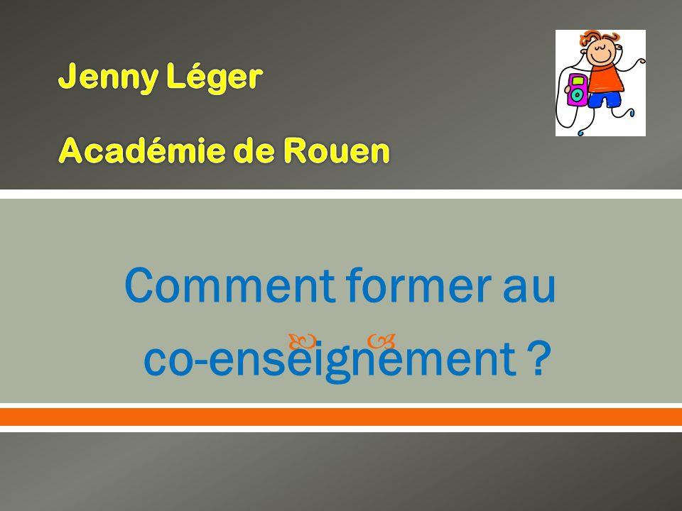 Jenny Léger Académie de Rouen