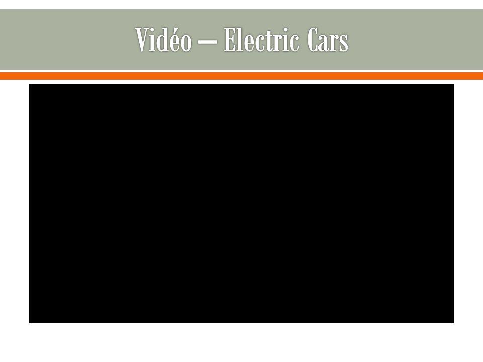 Vidéo – Electric Cars