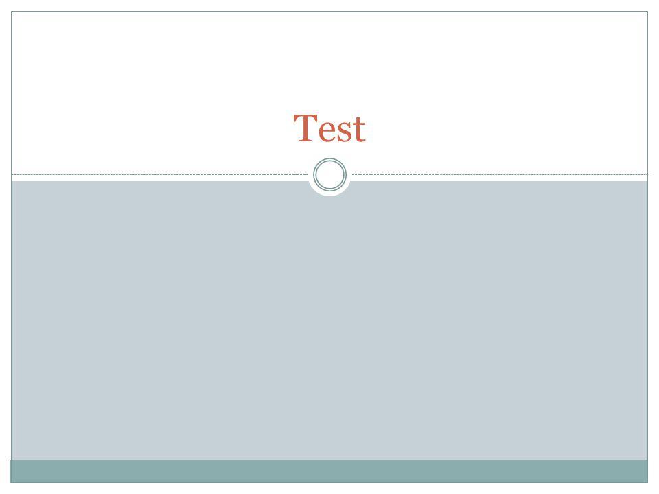 Test Distribution du test et réalisation de celui-ci: