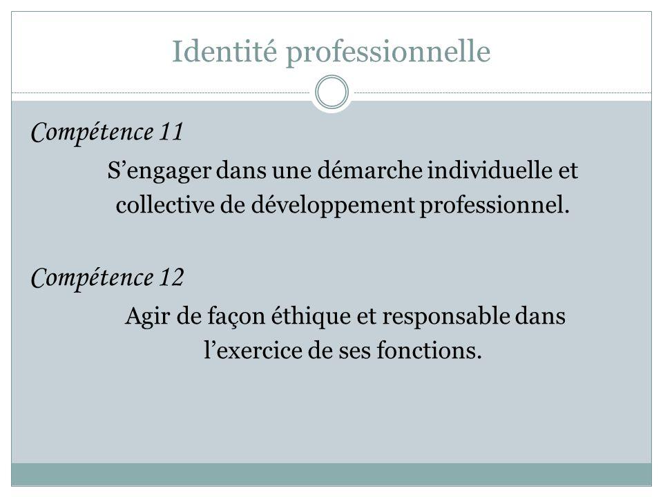 Identité professionnelle