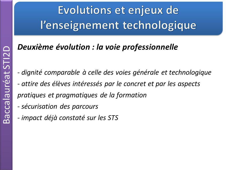 Evolutions et enjeux de l'enseignement technologique