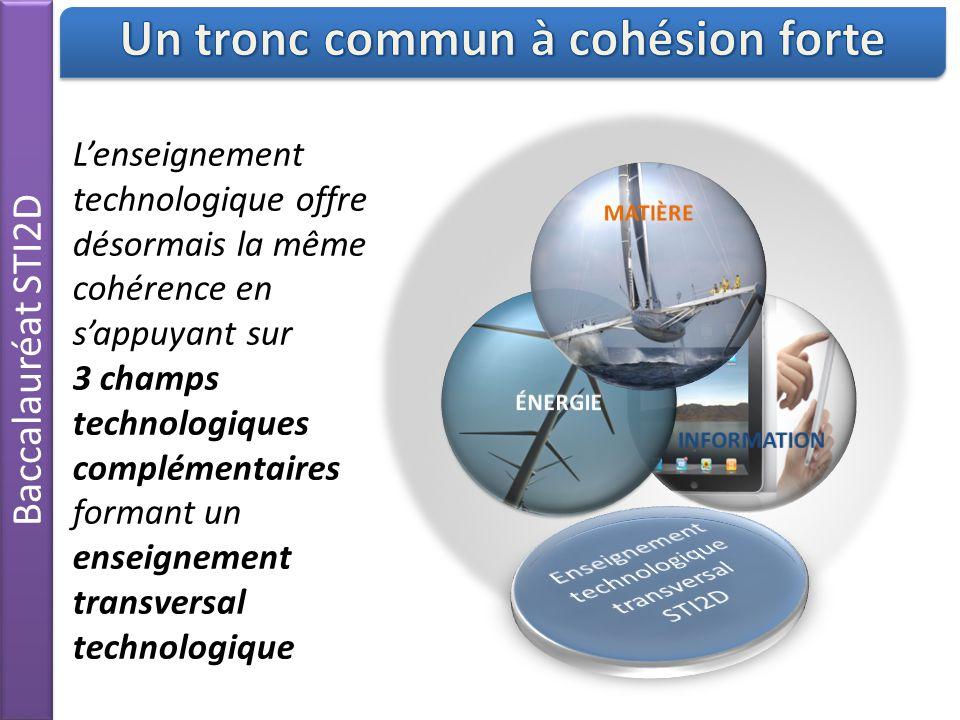 Un tronc commun à cohésion forte