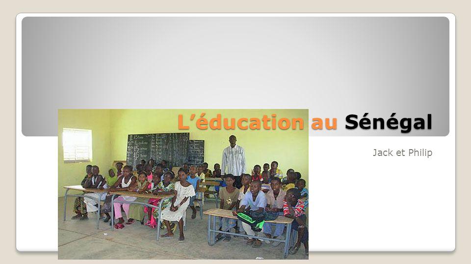 L'éducation au Sénégal