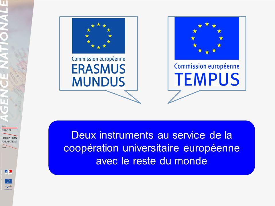 Deux instruments au service de la coopération universitaire européenne avec le reste du monde