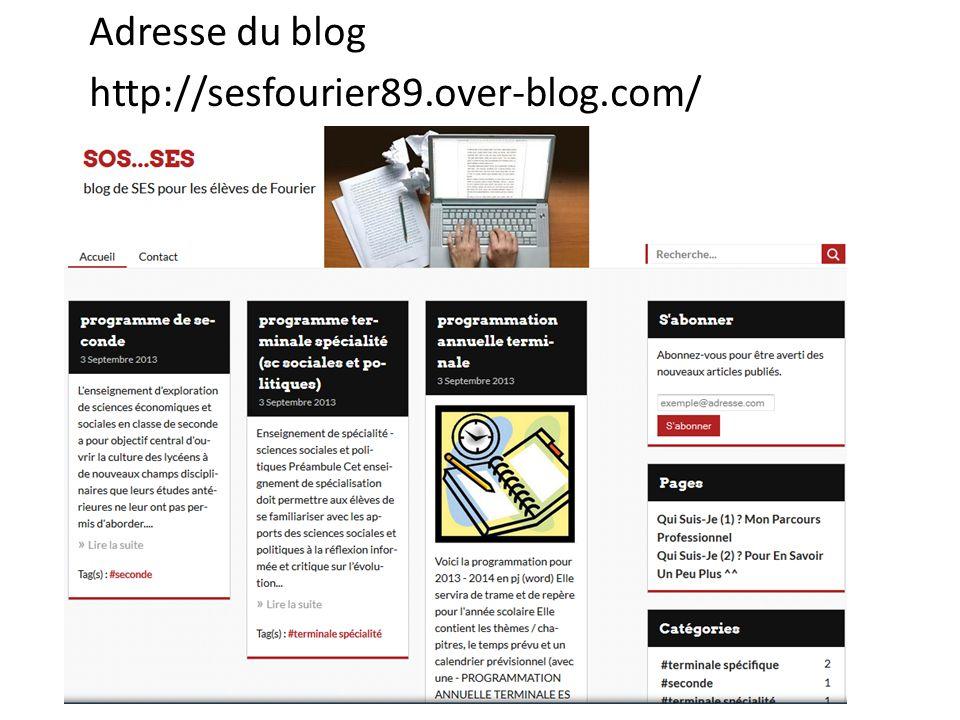 Adresse du blog http://sesfourier89.over-blog.com/