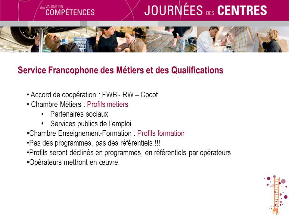 Service Francophone des Métiers et des Qualifications