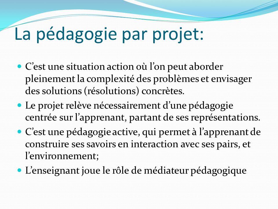 La pédagogie par projet:
