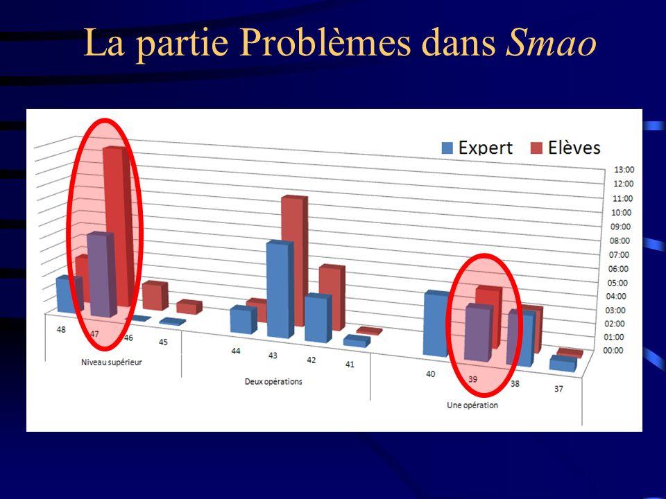 La partie Problèmes dans Smao