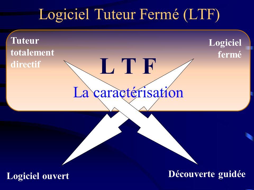 Logiciel Tuteur Fermé (LTF)