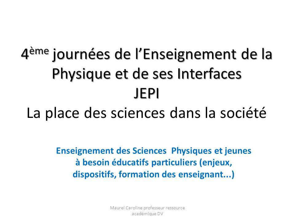Maurel Caroline professeur ressource académique DV