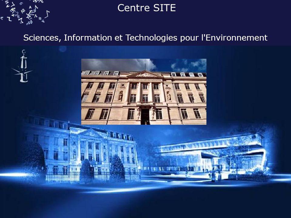 Sciences, Information et Technologies pour l Environnement