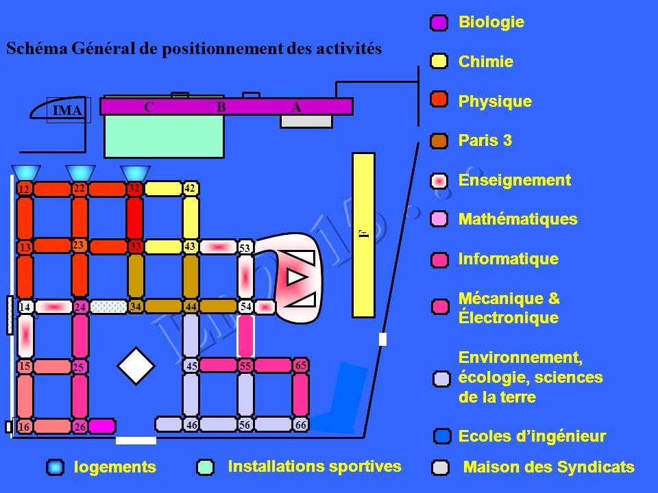 Schéma Général de positionnement des activités