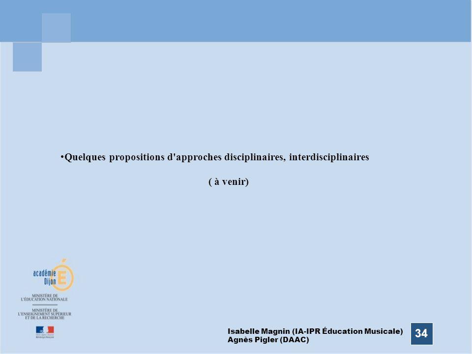 I. Magnin (IPR Ed. Musical - A. Pigler (DAAC)
