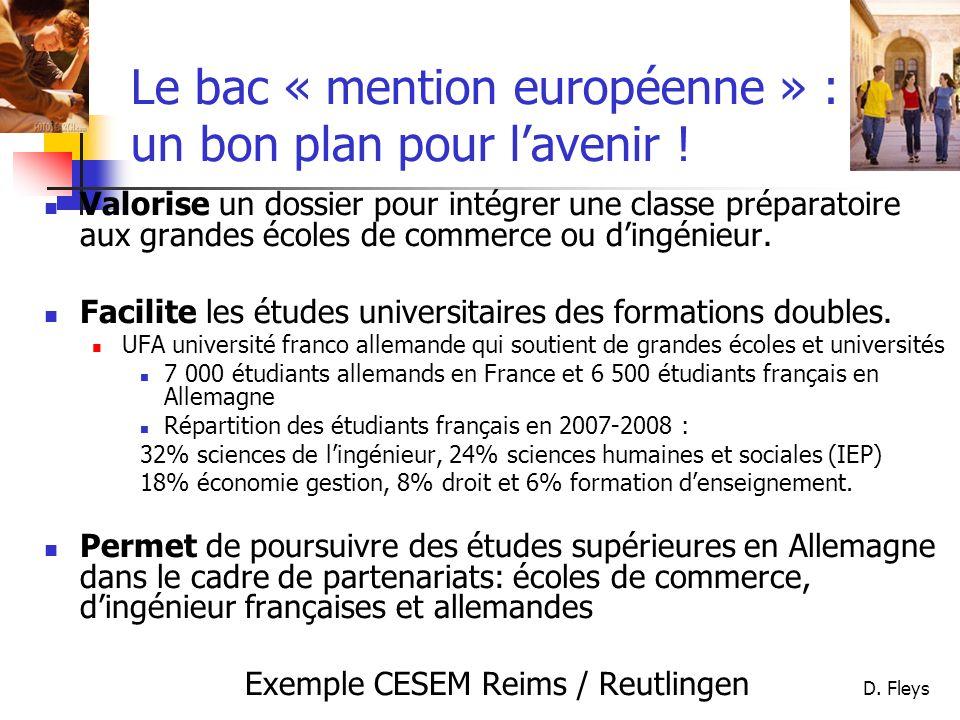 Le bac « mention européenne » : un bon plan pour l'avenir !